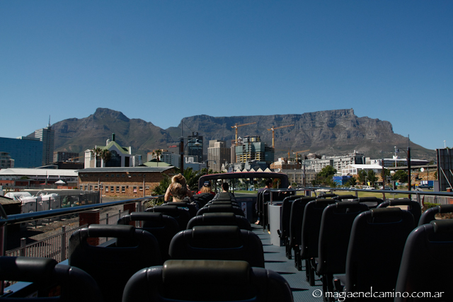 table mountain desde el bus