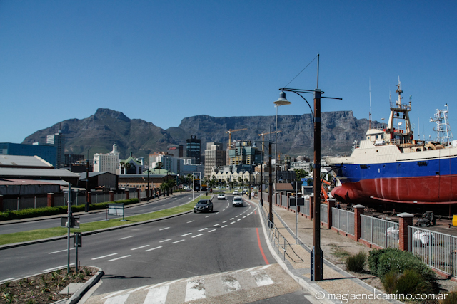table mountain desde el puerto