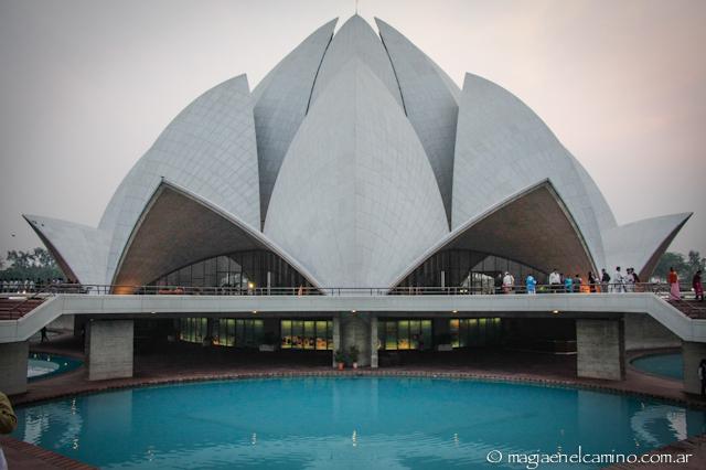 Templo del Loto, Delhi