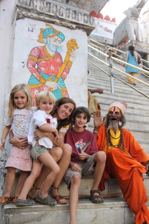 En un templo en India (Small)
