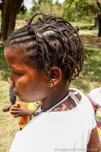 Peinado en Maputo