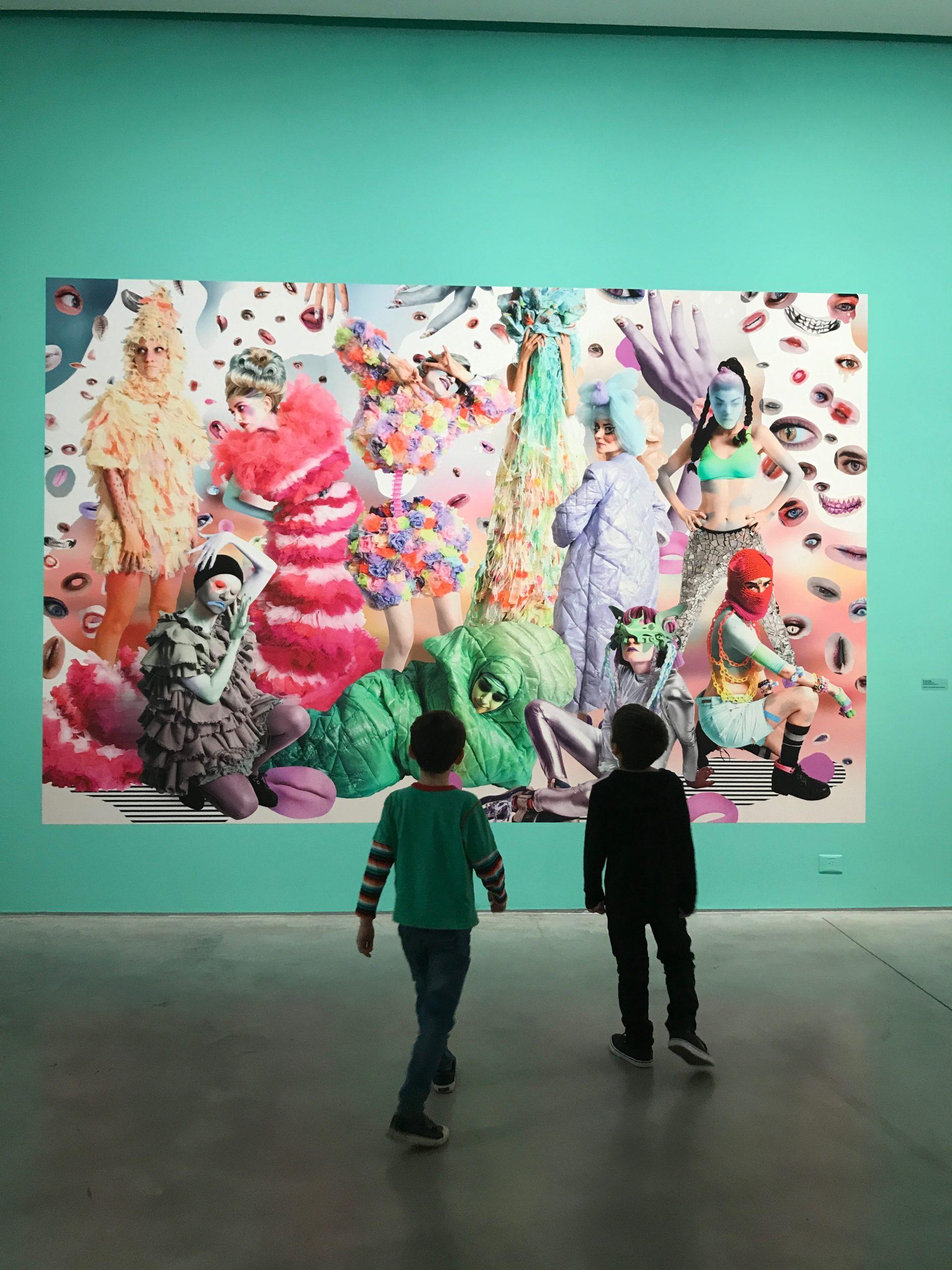 Museo de Arte Moderno de Buenos Aires con niños